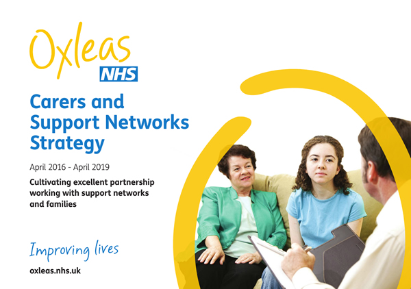 Oxleas Strategies Carers and Support Networks Strategy