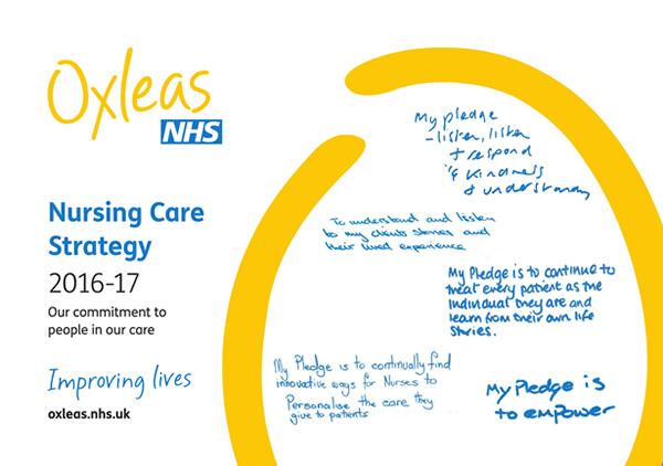 Oxleas Strategies Nursing Care Strategy 2016-17