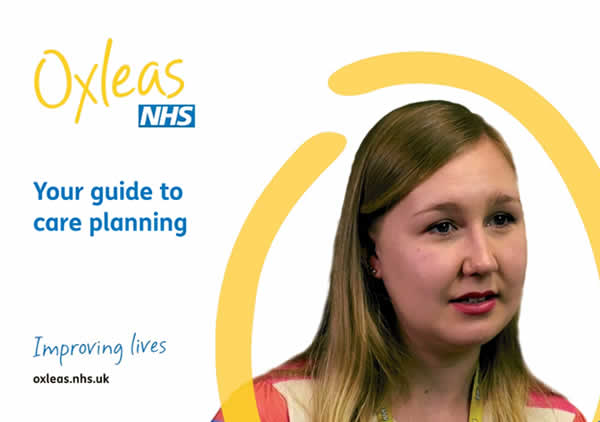 Oxleas Strategies Your Guide to Care Planning