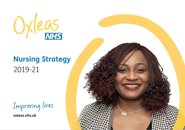 Oxleas Strategies Nursing Strategy 2019-21